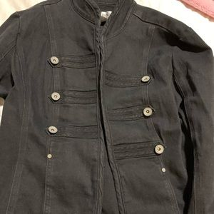 Black Double Breasted Jacket from Live a Little